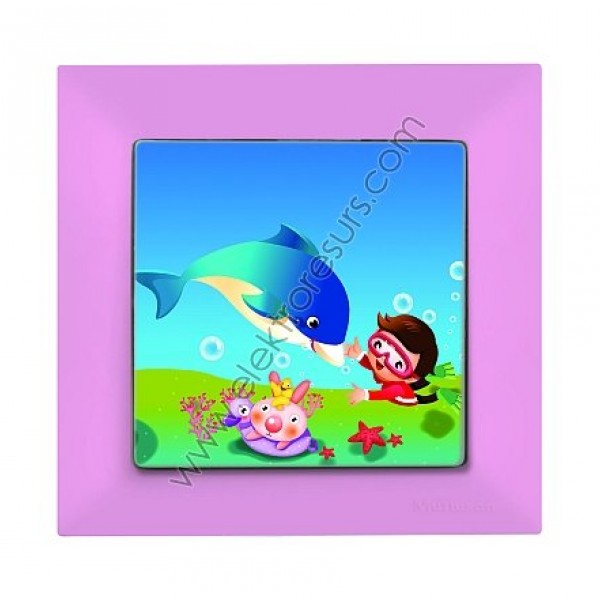 ключ Кандела розов делфин