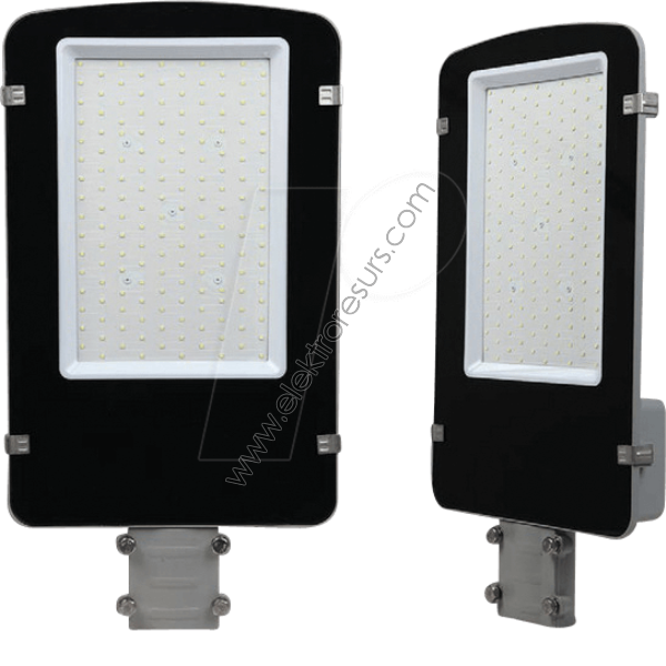 LED Улична лампа 30W 6400K Samsung чип Сиво тяло