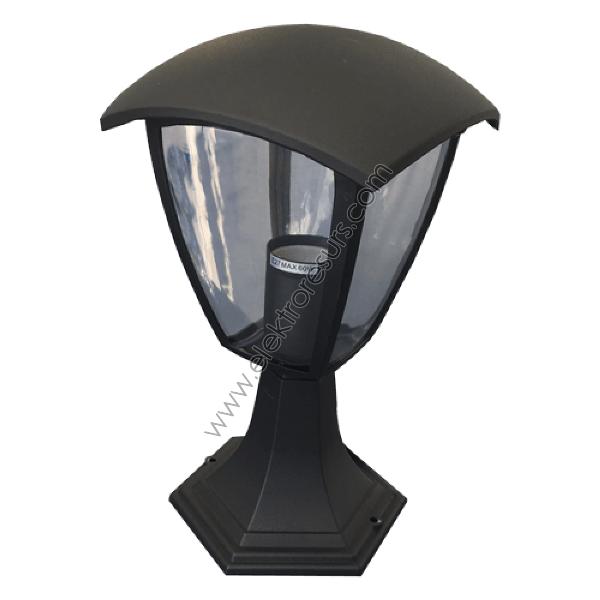 LED Градински аплик Черен