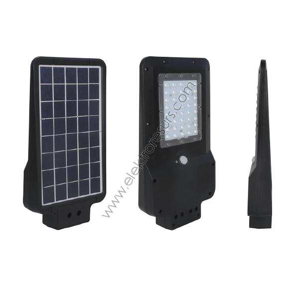 LED Улична соларна лампа + Датчик за движение 15W 6000k