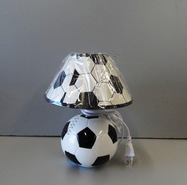 настолна лампа А2323 фут.топка черна