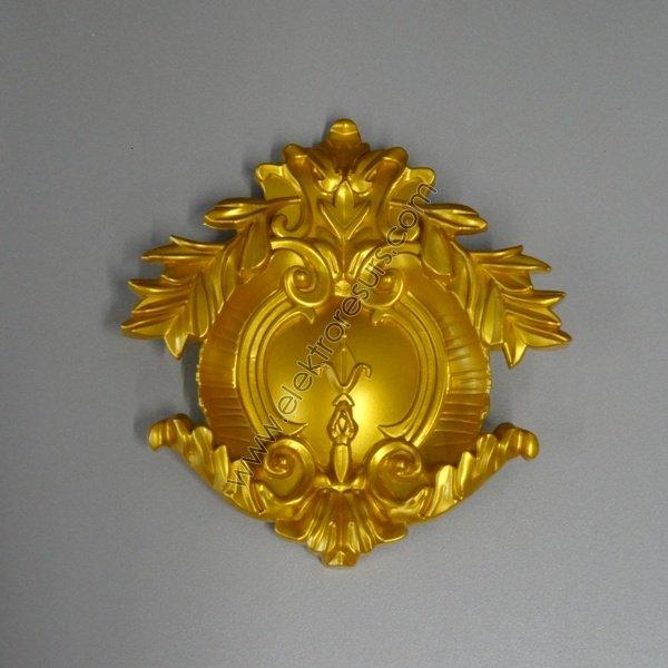 декорация голяма златна