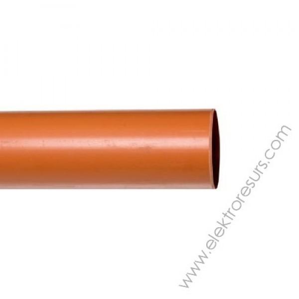 PVC  тръба Ф200 х 4.9мм - 5м. Пимташ