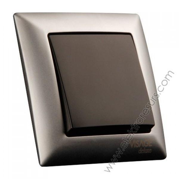 рамка Visage Deluxe 2 матиран хром
