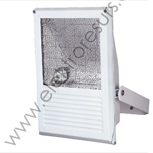 Прожектор металохалоген 70w бял