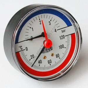Аксиален термоманометър