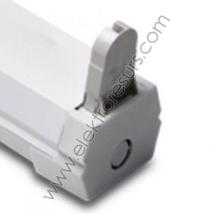 КМ  1х 60см  S ip20 за  LED тръби G118/BOS