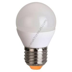 LED Крушка Е27 5.5W Сфера 6400K