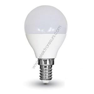 LED Крушка Е14 5.5W Samsung чип 3000K Сфера