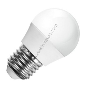 LED Крушка Е27 5.5W Samsung чип 3000K Сфера