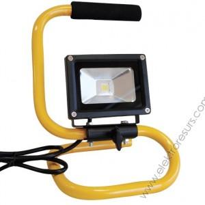 LED прожектор 10w стойка