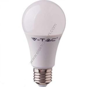 LED Крушка Е27 9W Микровълнов датчик 6400K