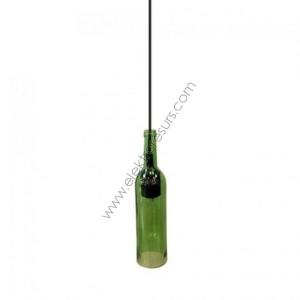 Пендел-бутилка Зелен