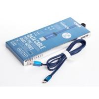 Кабел MICRO USB 1м Син RUBY