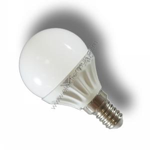 LED Крушка Е14 4W Сфера 3000K