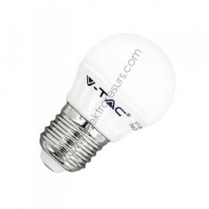LED Крушка Е27 4W Сфера 6000K
