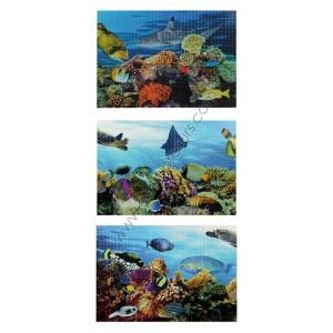 гръб за кухня PVC 4263 подводен свят