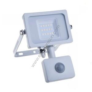 LED прожектор 10W 6000k Сензор