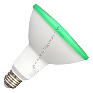 LED Крушка Е27 15W Зелен PAR38