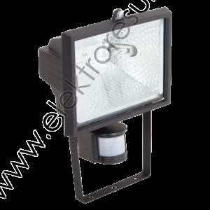 Прожектор халогенен 150w Черен + Сензор