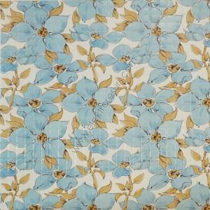 гръб за кухня PVC 4225 сини цветя