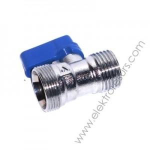 адаптор спирателен кран 24-19х1/2 мъжки син