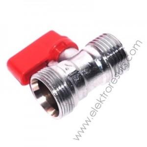 адаптор спирателен кран 24-19х1/2 мъжки червен