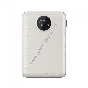 външна батерия 10000ma/h 8187 бяла
