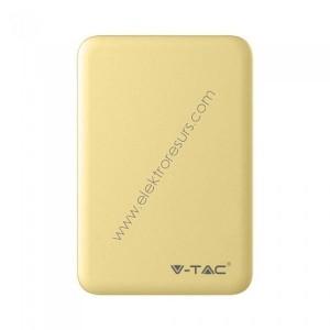 външна батерия 5000ma/h  8196 жълта