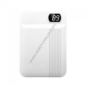 външна батерия 10000ma/h 8151 бяла
