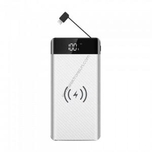 Външна батерия 20000mАh 8860 Бяла