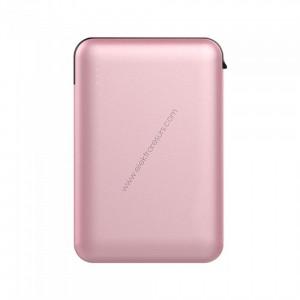 Външна батерия 5000mАh 8867 Розово злато