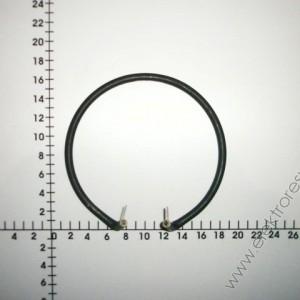 Нагревател  фритюрник 600мм 1.3kW Ni