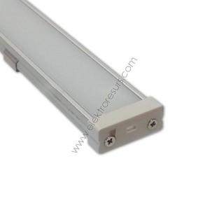 LED Алуминиев корпус Широк Мат