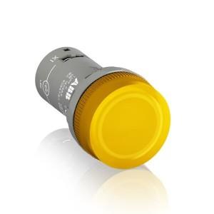 Лампа CL-502Y Жълта 24V