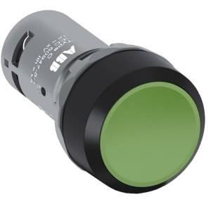 Бутон 1NO Зелен