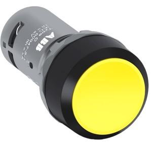 Бутон 1NO CP1-10Y-10 Жълт