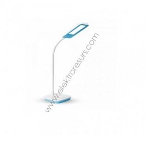 ЛЕД настолна лампа димер 7w синя