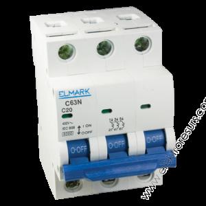 Автоматичен предпазител MCB C63N/ 10A