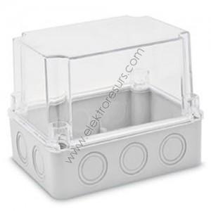 кутия ПКОМ 150х110х140 прозрачен капак cp1471