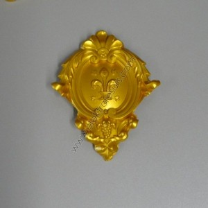 декорация малка златна