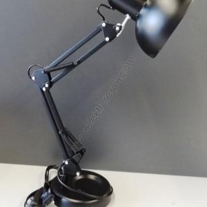 настолна лампа 2810 работна   черна