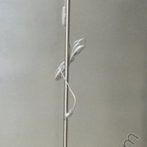лампион никел-мат/син