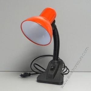 настолна лампа с щипка