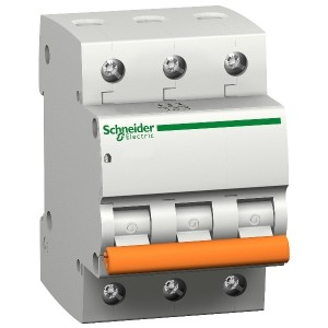 Автоматичен прекъсвач E63N+ 3Р/ 40A C