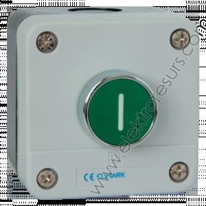 кнопка EL2-BP102  1НО зелен EL