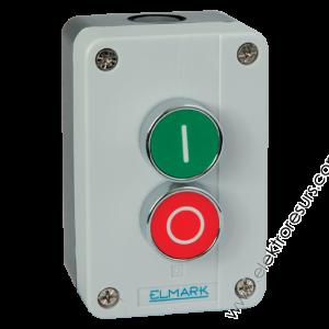 кнопка EL2-BP213  1НЗ+1НО EL