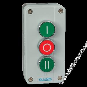 кнопка EL2-BP339  1НЗ+2НО