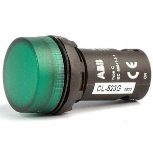 Лампа CL-502G Зелена 24V