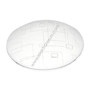 ЛЕД ПЛ 12w  кръг квадрати ф.230